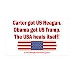 USA Heals Itself 35x21 Wall Decal