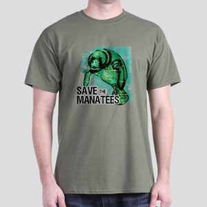 Save the Manatees Dark T-Shirt