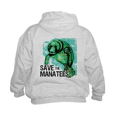 Save the Manatees Hoodie