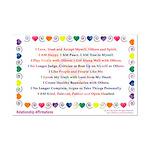 Relationship Healing Affirmations Print