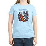 Harrell Coat of Arms Women's Light T-Shirt