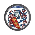 Harrell Coat of Arms Wall Clock