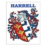 Harrell Coat of Arms Small Poster