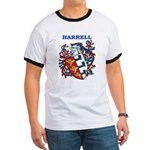 Harrell Coat of Arms Ringer T