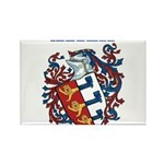 Harrell Coat of Arms Rectangle Magnet (10 pack)