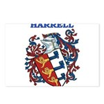 Harrell Coat of Arms Postcards (Package of 8)