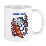 Harrell Coat of Arms Mug