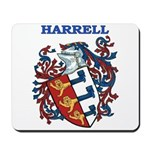 Harrell Coat of Arms Mousepad