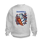Harrell Coat of Arms Kids Sweatshirt