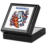 Harrell Coat of Arms Keepsake Box