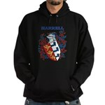 Harrell Coat of Arms Hoodie (dark)