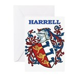 Harrell Coat of Arms Greeting Cards (Pk of 10)