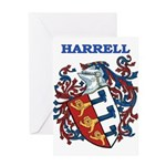 Harrell Coat of Arms Greeting Card