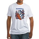 Harrell Coat of Arms Fitted T-Shirt