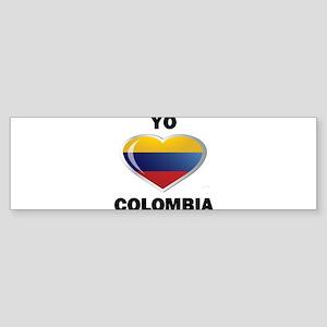 YO AMO COLOMBIA Sticker (Bumper)
