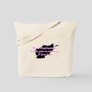 love/hate afgan Tote Bag