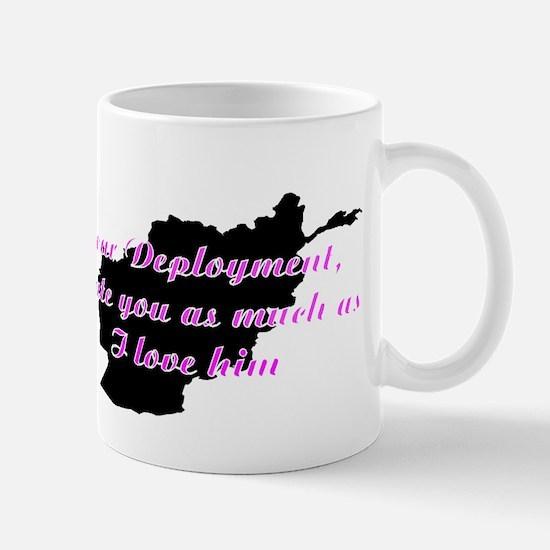 love/hate afgan Mug