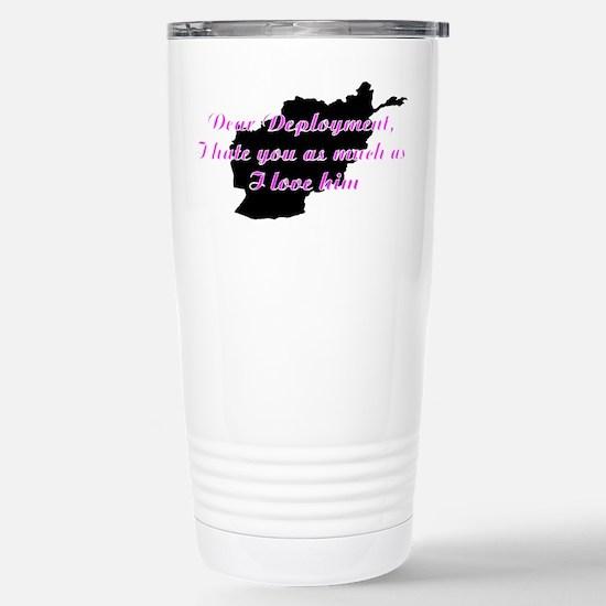 love/hate afgan Stainless Steel Travel Mug