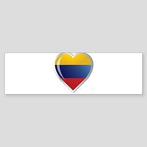CORAZON COLOMBIA Sticker (Bumper)
