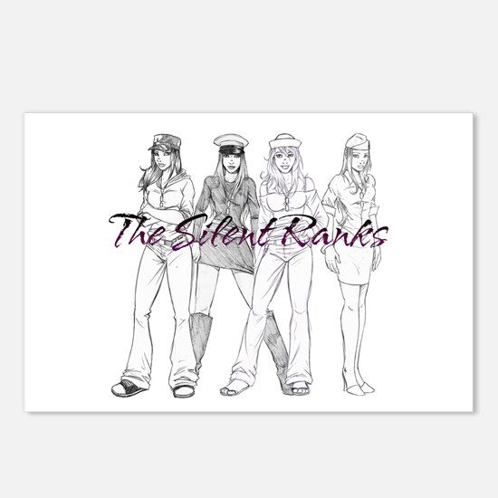 Silent Ranks Logo Postcards (Package of 8)