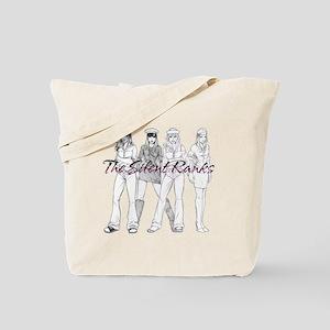 Silent Ranks Logo Tote Bag