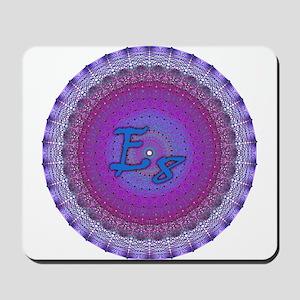 E8 Lie Blue Mousepad