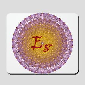 E8 Lie Gold Mousepad