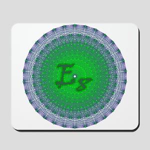 E8 Lie Green Mousepad