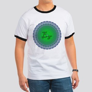 E8 Lie Green Ringer T