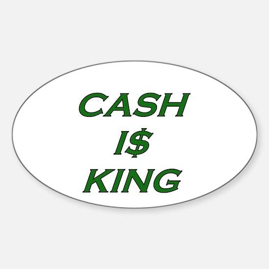 Unique Debt Sticker (Oval)