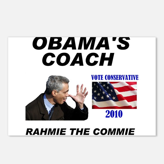 RAHMIE THE COMMIE Postcards (Package of 8)