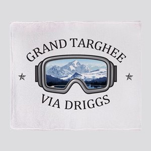 Grand Targhee - via Driggs - Wyomi Throw Blanket