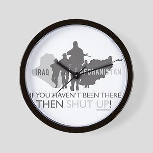 Iraq - Afghanistan Wall Clock