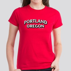Portland Oregon Women's Dark T-Shirt