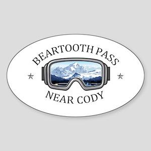 Beartooth Pass - near Cody - Wyoming Sticker