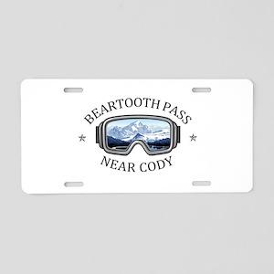 Beartooth Pass - near Cod Aluminum License Plate