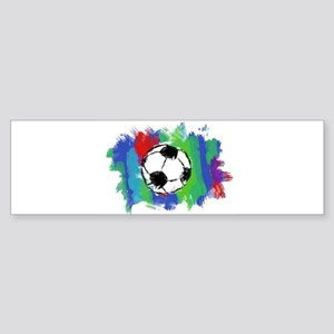 Soccer Fan Sticker (Bumper)