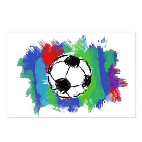 Soccer Fan Postcards (Package of 8)