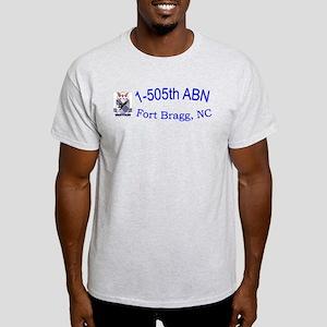 1st Bn 505th ABN Light T-Shirt