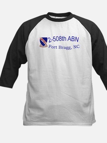 2nd Bn 508th ABN Kids Baseball Jersey
