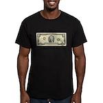 Spend Toms Men's Fitted T-Shirt (dark)