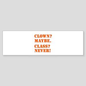 Clown? 5 Sticker (Bumper)