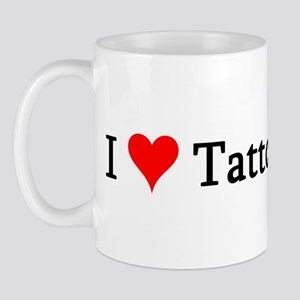 I Love Tattoo Artists Mug