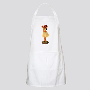 Retro Hula Girl BBQ Apron