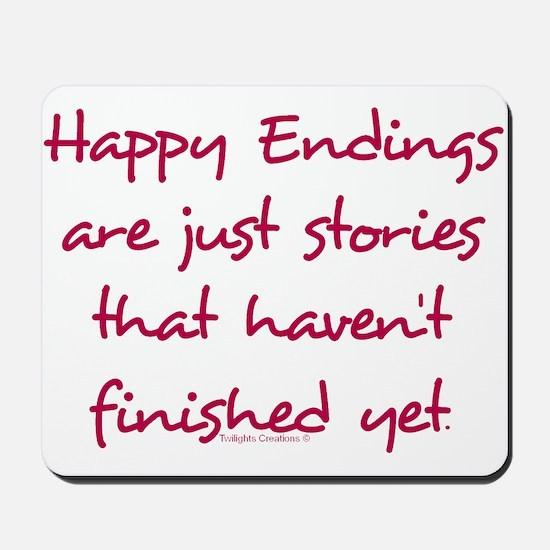 Happy Endings Finished Mousepad
