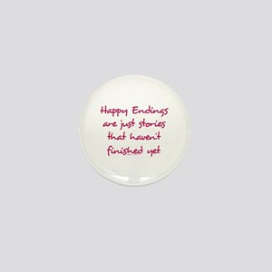 Happy Endings Finished Mini Button