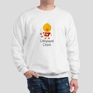Lifeguard Chick Sweatshirt