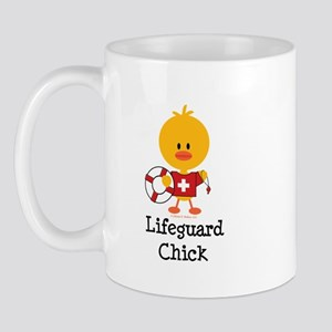 Lifeguard Chick Mug