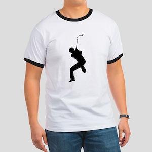 Angry Golfer Ringer T
