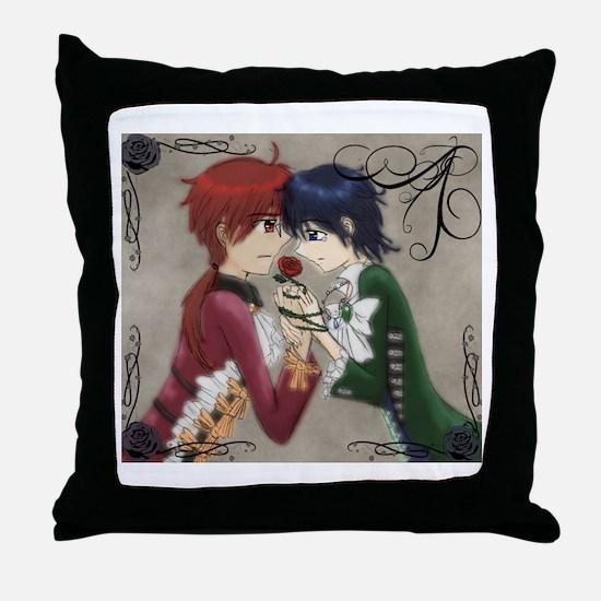 blackrosesred Throw Pillow